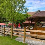Küssnacht am Rigi (SZ)のレストランAlpenhof!遊び場が充実していてスゴイ!